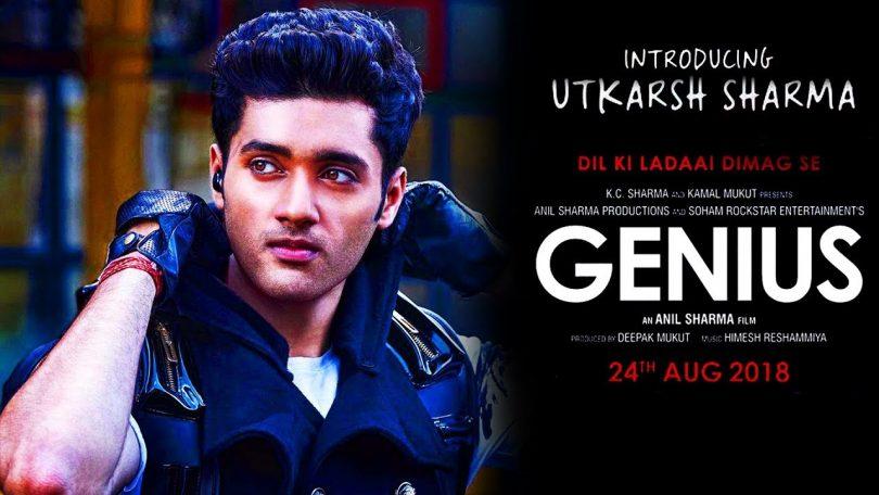 Genius movie teaser introduces Utkarsh Sharma as a romantic nerd
