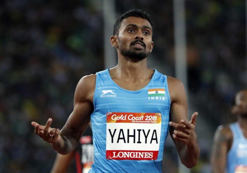 Sprinter Anas Yahiya breakes his own National Record