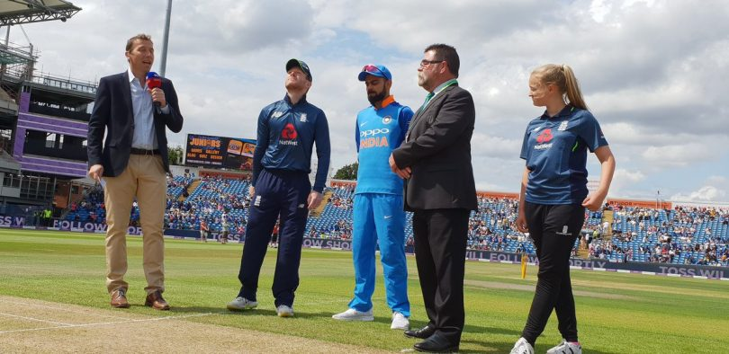 India vs England 3rd ODI Live Cricket Score Streaming Online, Commentary and Score; Ind completed 50 runs