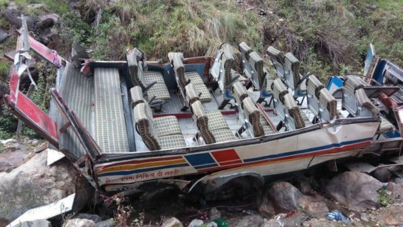 Over 42 dead in Uttarakhand's Pauri Garhwal after Bus Falls into Gorge