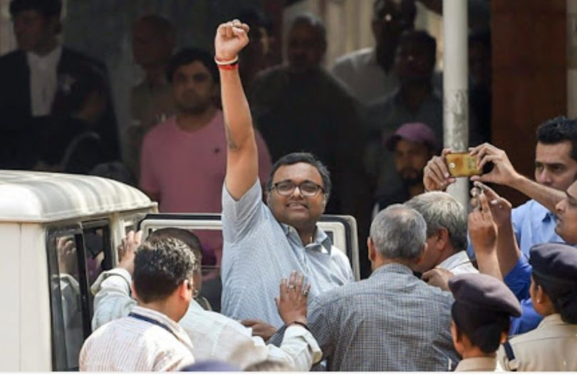 Aircel Maxis Case, Patiala Court to consider charge sheet against Karti Chidambaram today