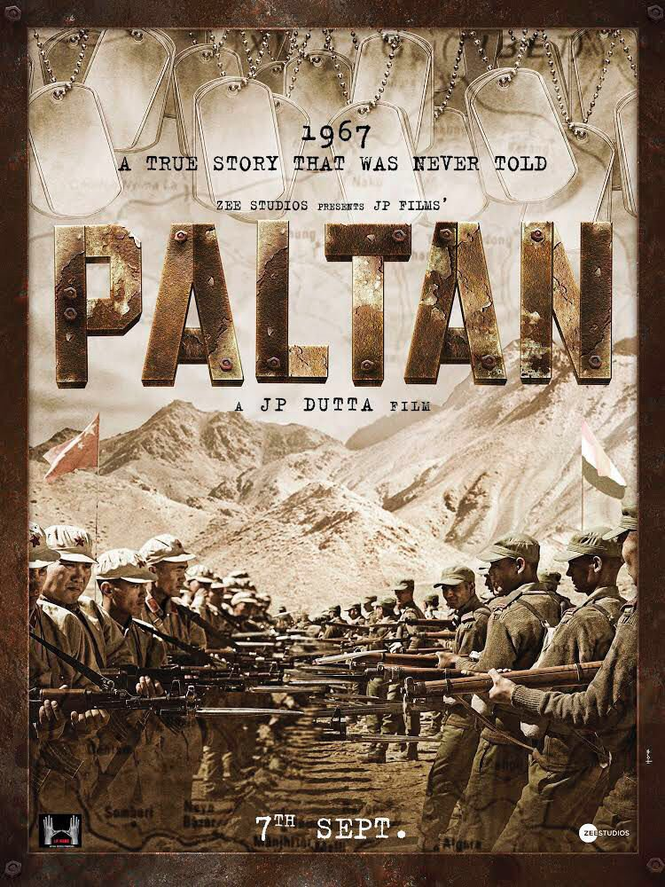 Paltan movie to release on September 7 2018, JP Dutta's war movie promises thrills
