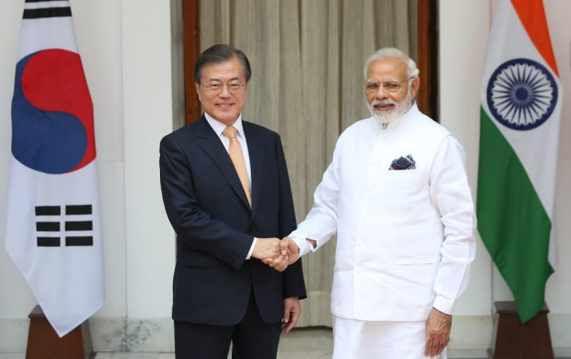 India and South Korea 7 MoU's to strengthen ties