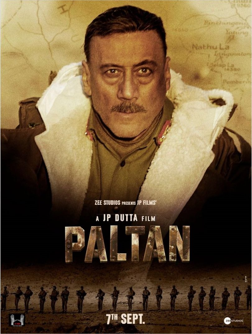 Paltan movie, character posters for Arjun Rampal, Jackie Shroff and other actors released for JP Dutta's war epic