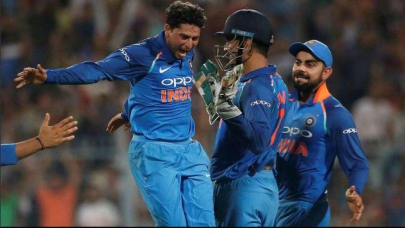 Kuldeep Yadav maiden five-wicket haul in T20 Cricket steal the English show