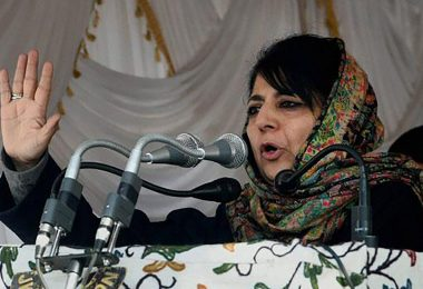 PDP Chief Mehbooba Mufti warned BJP of dividing people in a terrible manner