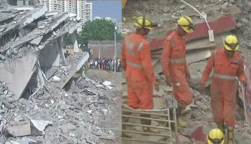 Greater Noida building collapse today, Police arrested 3 builders