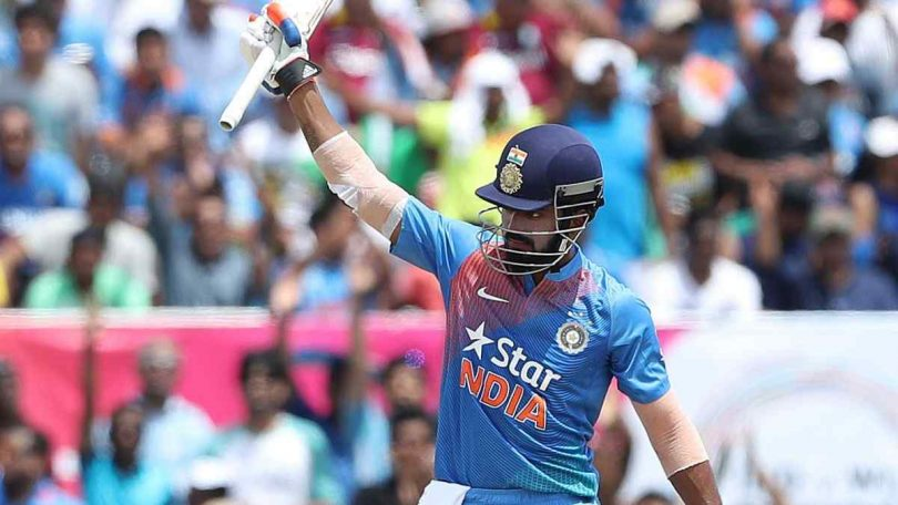 Batsman KL Rahul smashed second T20Is Century, levels Rohit Sharma's record