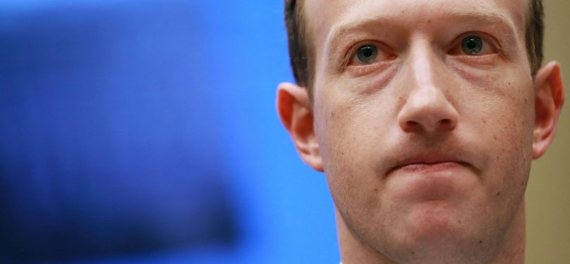 Mark Zuckerberg downfalls in Billionaire index after Facebook Shares falls