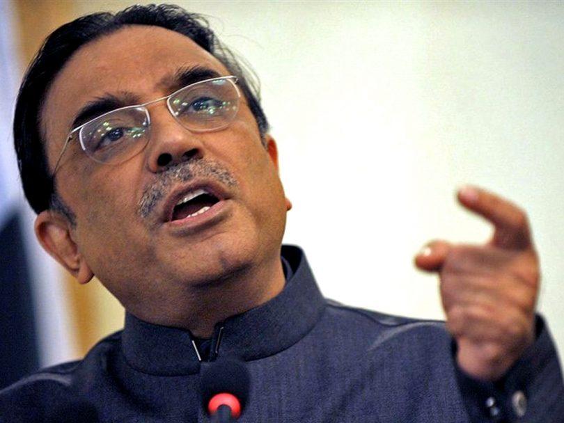 Asif ali zardari declared absconders in money laundering case