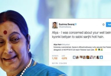Sushma Swaraj becomes most searching women on Twitter