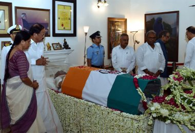 Atal Bihari Vajpayee cremation highights; SC announces half-day holiday; former PM's body being moved to BJP HQ