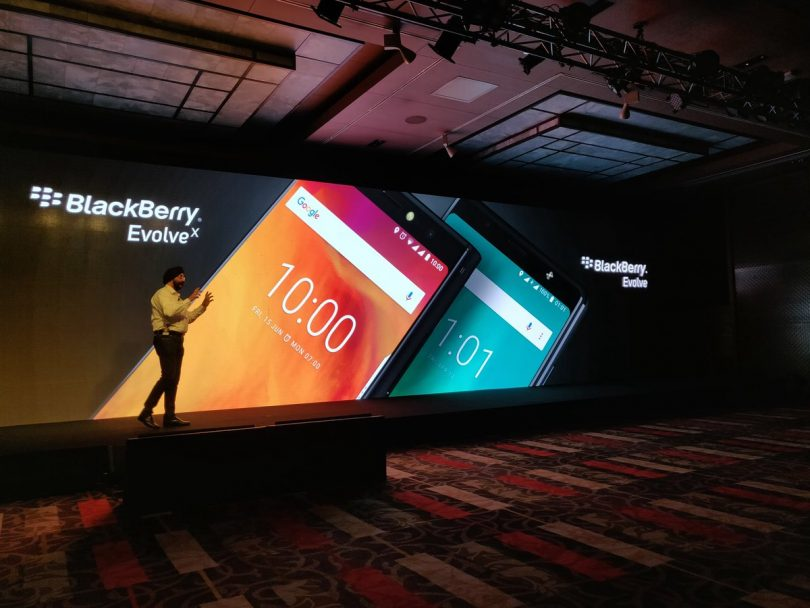 BlackBerry Evolve, Evolve X; Full Specification, Features and Price in India