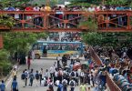 Student Protest in Dhaka at Bangladesh; Police fire tear gas on students