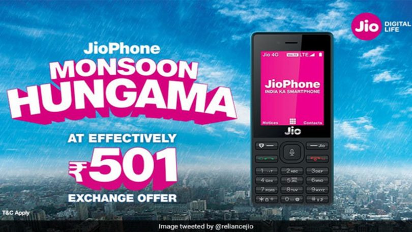 Reliance Jio Monsoon Offer Plan: Get unlimited calling and Data at Rs. 549