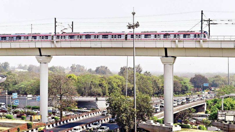 Delhi Metro Pink Line: Route map, Fare, Station List, and Start Timings