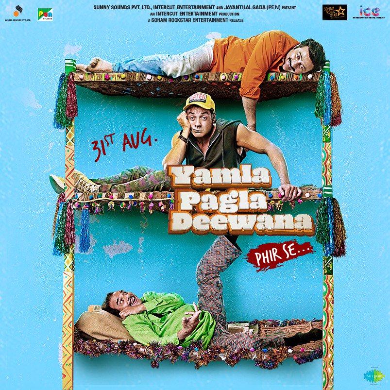 Yamla Pagla Deewana Phir Se trailer adventures moved to Gujarat this time