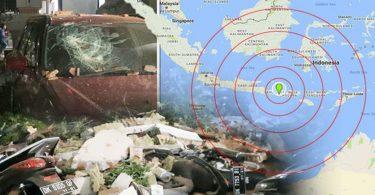 Magnitude 6.9earthquakestrikesIndonesia'sLombok, 94 dead so far