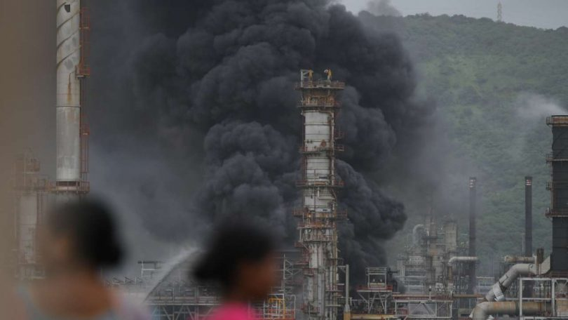 Several reported as Injured as Fire breaks out at BPCL Plant in Mumbai's Mahul