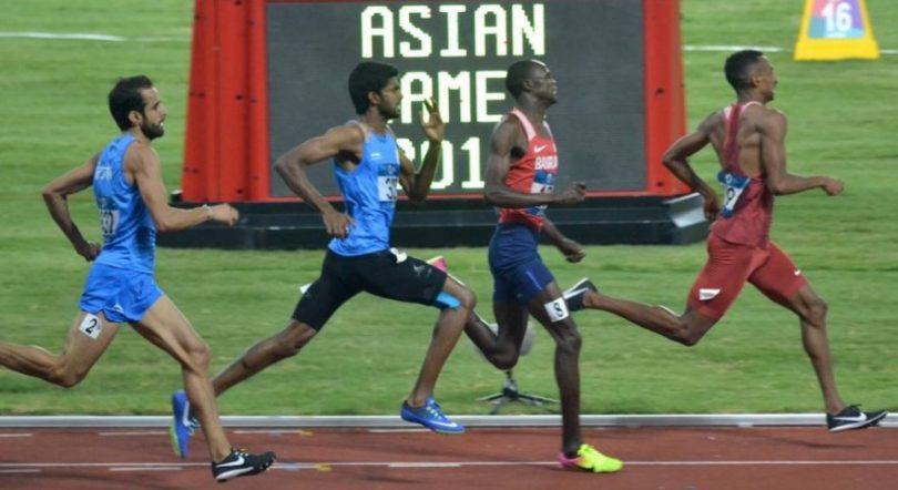 Manjit Singh wins Gold in 800 meter Racing Event, India bags 8th Gold