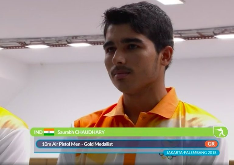 Rajnath Singh wishes Saurabh Chaudhary for winning gold in 10m Air Pistol