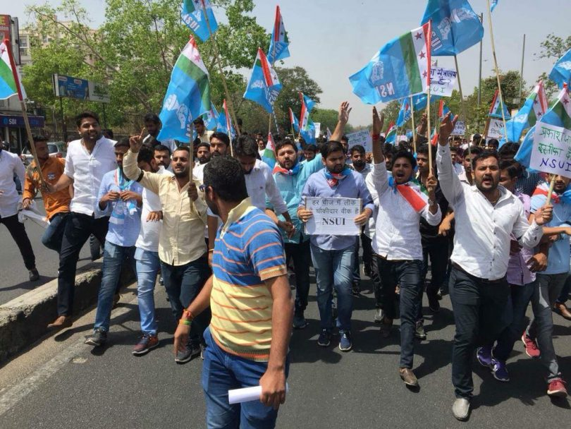 NSUI alleges Vasundhara Raje for interfering Rajasthan Student Union Election