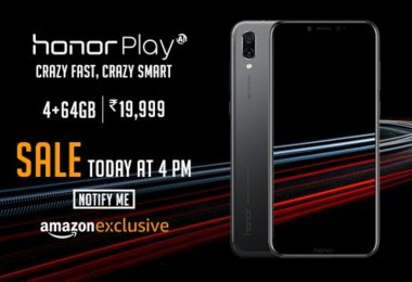 How to get Honor Play on Flash Sale today, launch at Amazon Exclusively