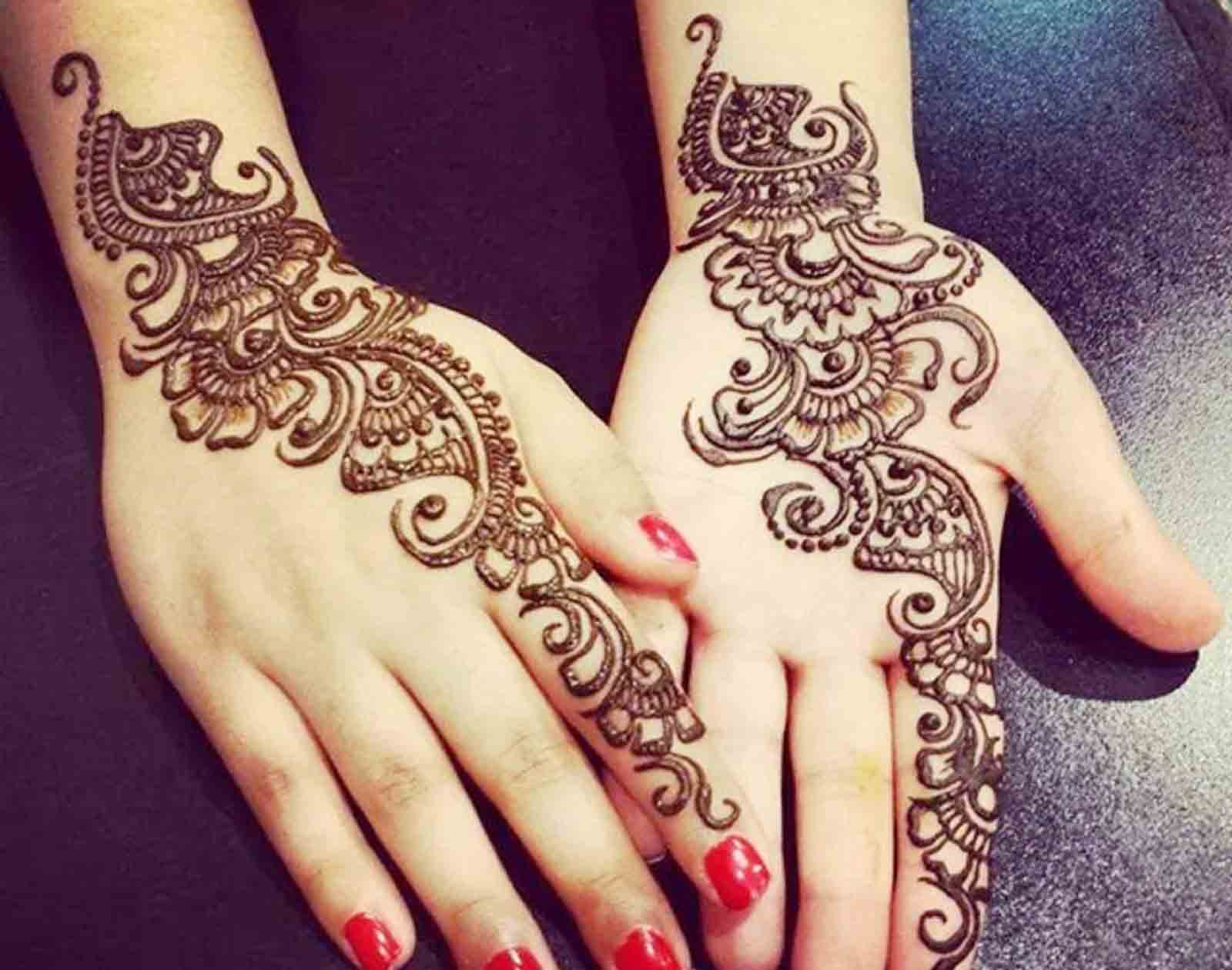 Eid Ul Adha Mubarak 2018 Best Mehndi Collection And Designs