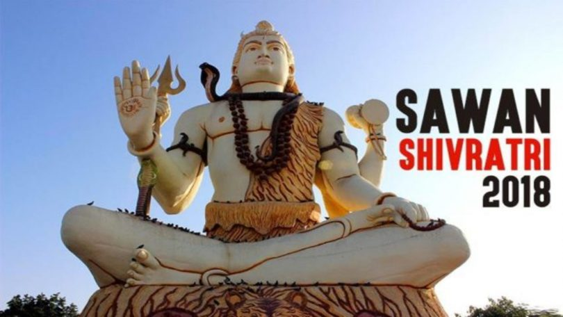 Sawan Shivratri 2018; Date, Timing, Significance and Importance