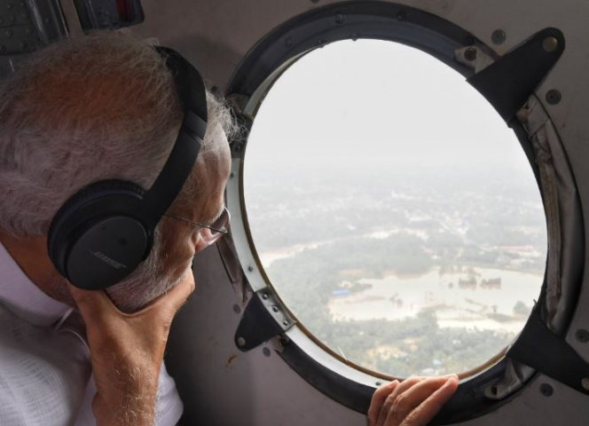 Kerala Floods 2018 Live Updates; PM Modi's aerial survey gives 500 Cr as relief