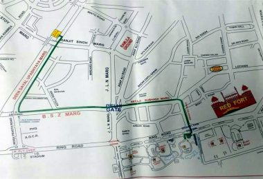 Delhi Route Plan and Diversion before Atal Bihari Vajpayee Funeral