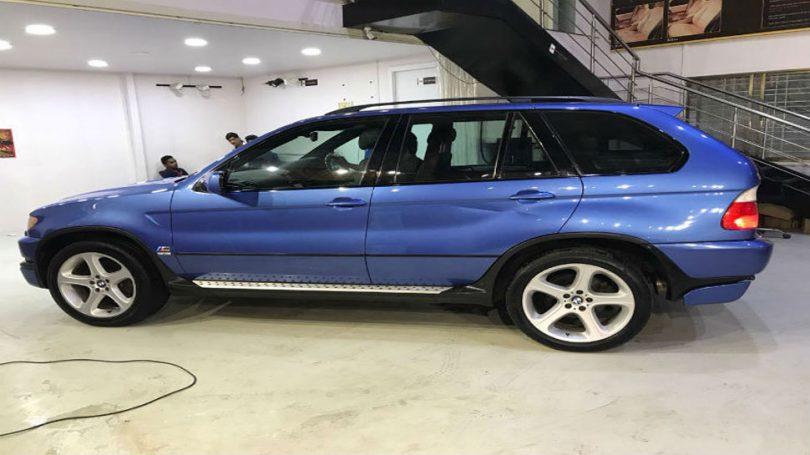 Sachin Tendulkar's BMW X5M can be yours, Click Here