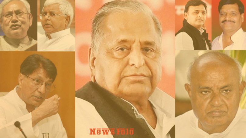 Theoritical Concept of SP-BSP and Congress against BJP in Uttar Pradesh