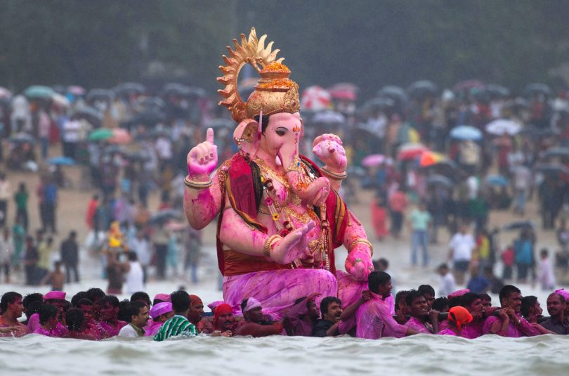Ganesh Visarjan 2018 Date and Time: Anant Chaturdashi Day and Auspicious Choghadiya Muhurat