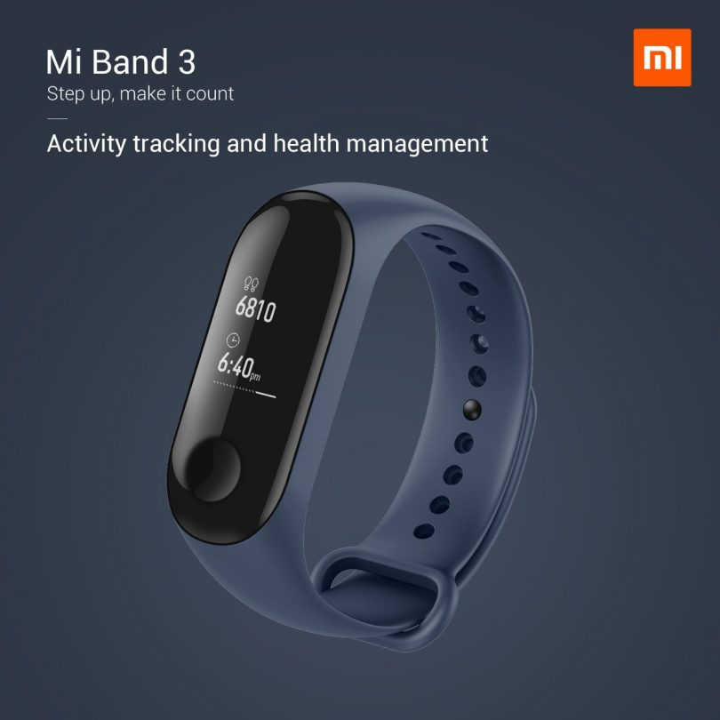 Xiaomi launches MI Band 3, MI TV, MI Smart Camera and Purifier