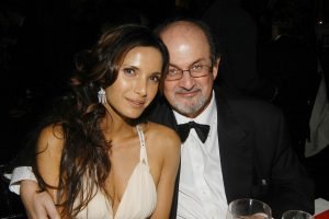 Padma Lakshmi with Salman Rushdie