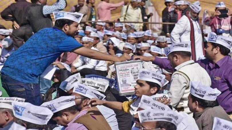 EC asks AAP over discrepancies in donation, serves showcause notice