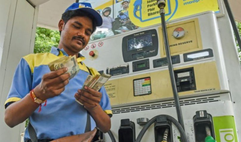 Petrol Price crosses 87 Mark in Mumbai, Govt still on mute mode