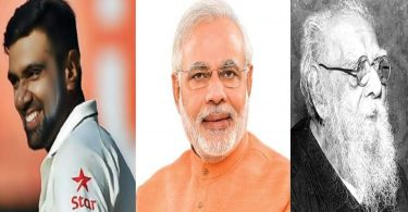 Happy Birthday Narendra Modi, Ravichandran Ashwin, and M.F Husain