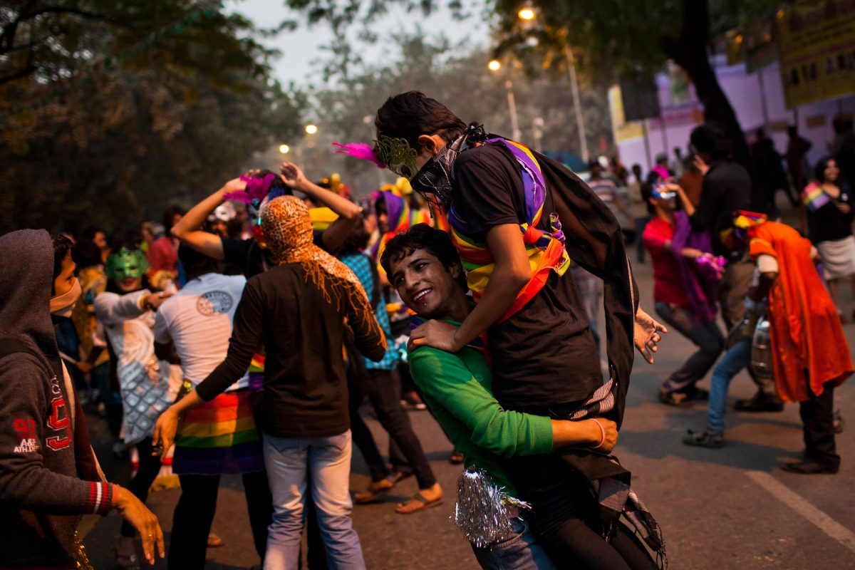 Indian Court Overturns Gay Sex Ban