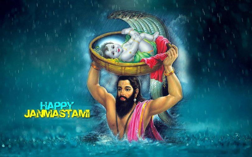 Happy Krishna Janmashtami slokas, Puja Mantra and Quotes in Sanskrit and Hindi