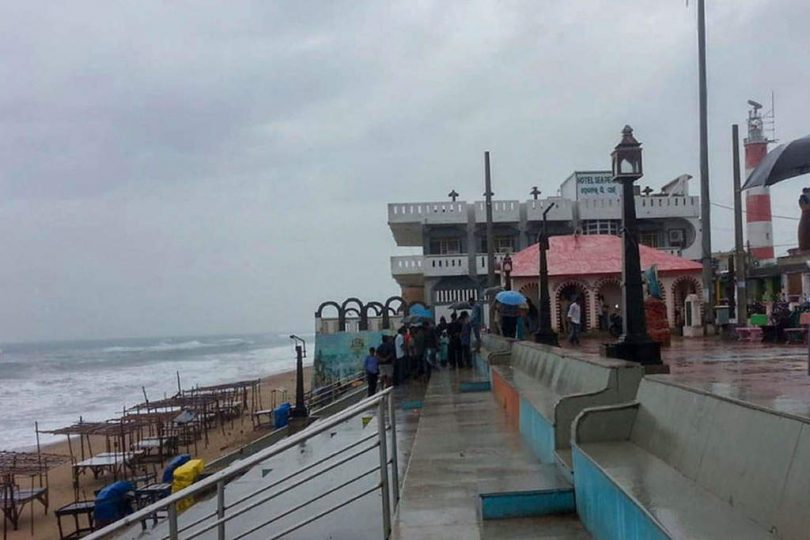 Cyclone Titli Hits Odisha Coast, Trees Uprooted; Flights, Trains Affected