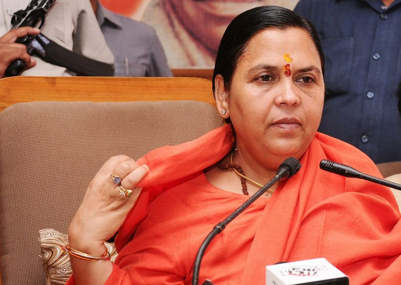 Senior Leader Uma Bharti won't contest 2019 Lok Sabha Election