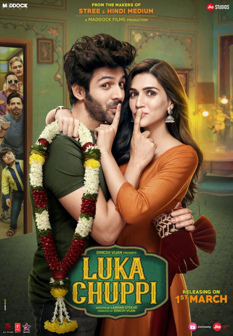 Luka Chuppi Poster Unveils The Secret Romance Between Kartik And Kriti