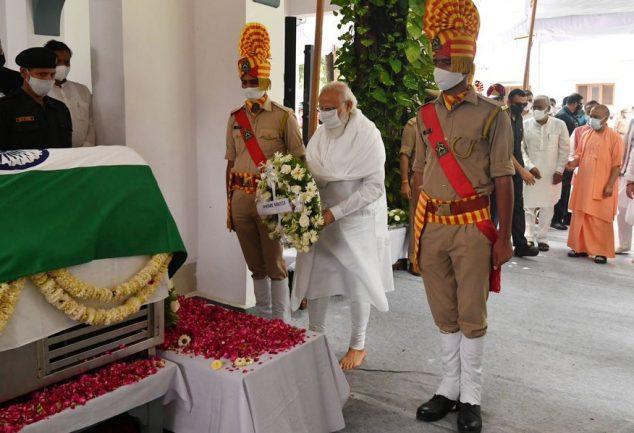 PM Modi pays tribute to Kalyan Singh